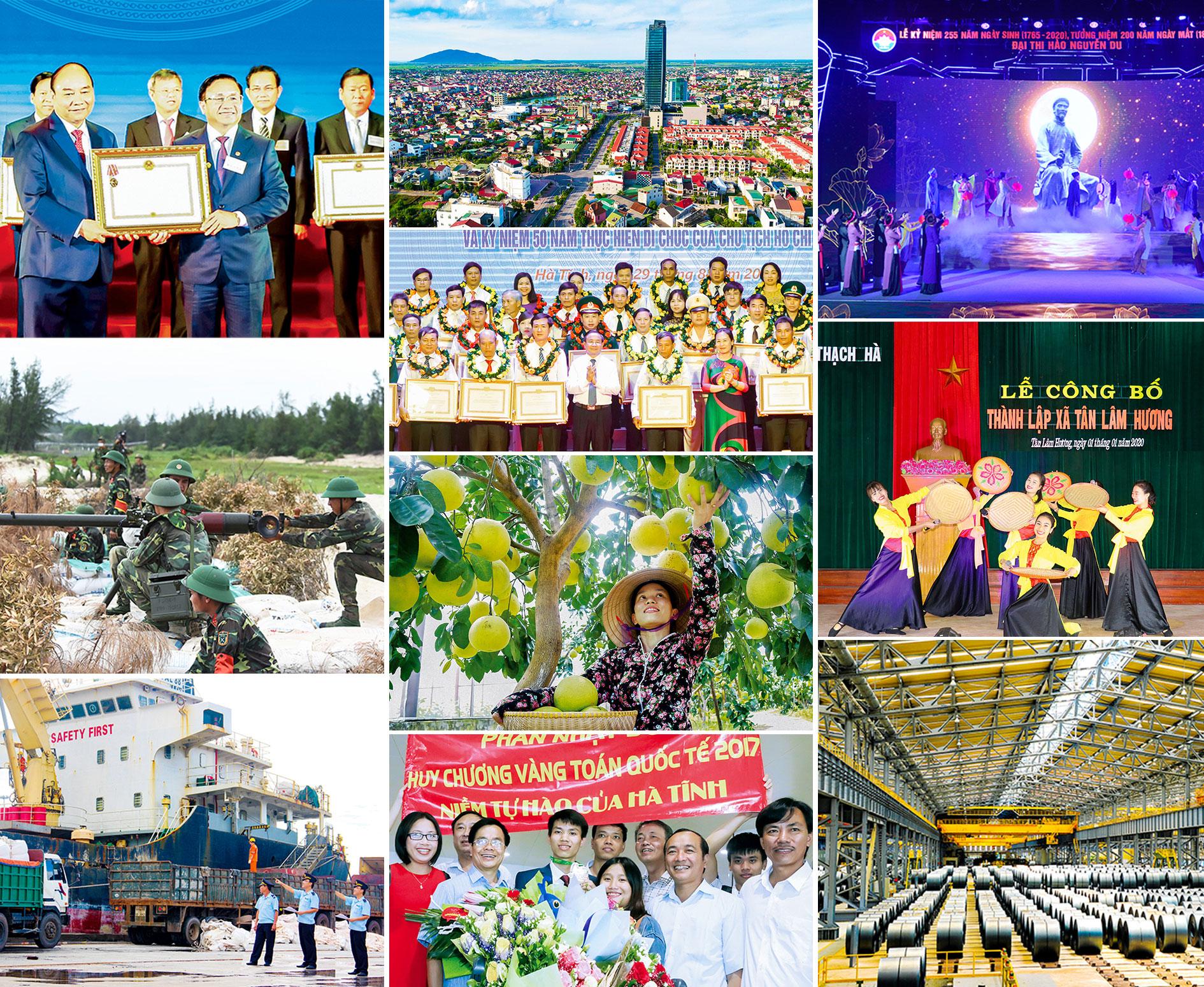 10 dấu ấn nhiệm kỳ 2015 - 2020 của Đảng bộ và Nhân dân Hà Tĩnh
